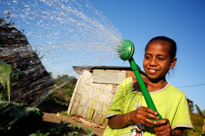 Clean water in Timor-Leste